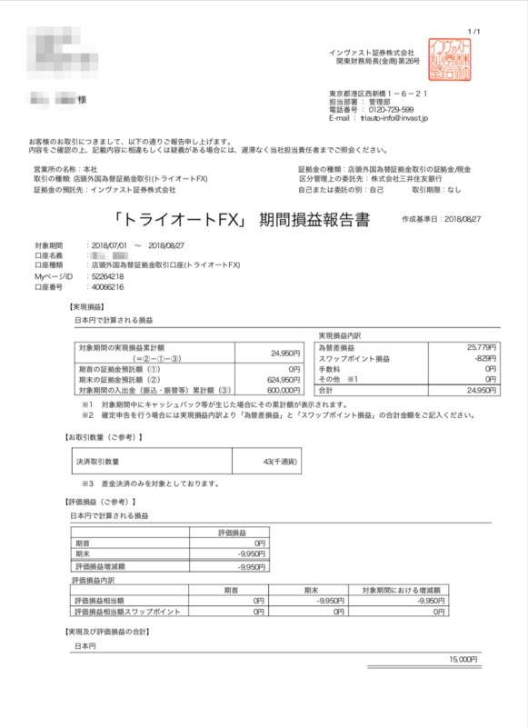 トライオートFX・トライオートETFの税金どうするの?確定申告は必要!【節税】