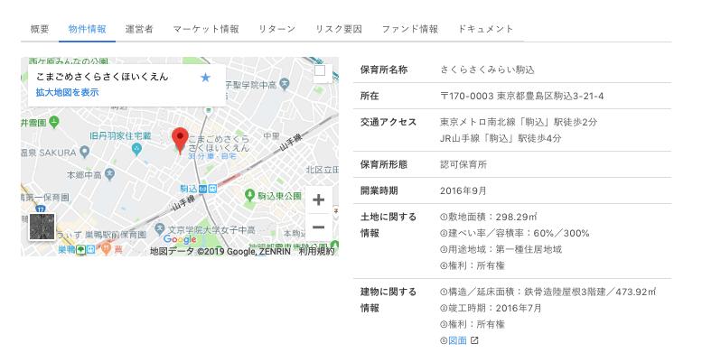 creal - CREAL(クリアル)駒込保育所は投資対象!30万円投資!